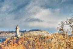 Wallace Monument Stirling Scotland Immagine Stock Libera da Diritti
