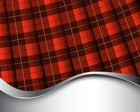 Wallace tartan Stock Images