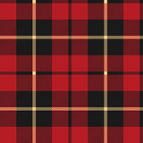 Wallace Tartan Repeating Background Stock Photography