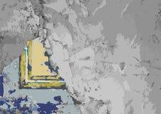 wallah Antyka beton i rama fotografia royalty free