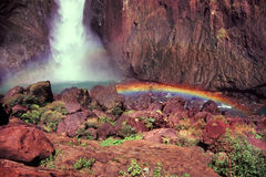 Wallaman cai Queensland Austrália Fotografia de Stock
