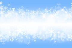 Wallaper bleu de l'hiver photographie stock libre de droits