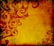 Wallapper de Grunge ilustração royalty free