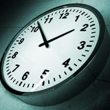 WallClock02 Stockbild