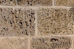 Wallcovering com a parede da textura da pedra do grunge foto de stock royalty free
