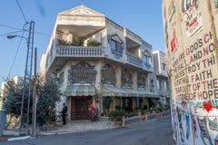 Walled av hotellet, Betlehem, arkivbilder
