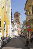 Walled City, Cartagena royalty free stock image
