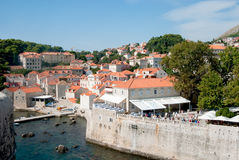Walled Dubrovnik Royalty Free Stock Photo