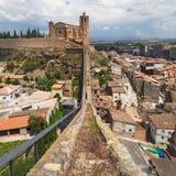 Walled Enclosure of Balaguer. Catalonia Stock Photo