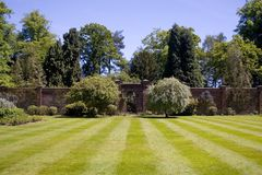 Walled garden Royalty Free Stock Image