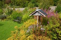 Walled garden, Applecross. The pretty walled garden at Applecross, Scotland Stock Photos