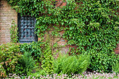 Walled Garden Stock Photo