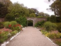 Walled Garden Royalty Free Stock Photography