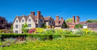 The Walled Garden, Packwood House, Warwickshire, England. royalty free stock photos