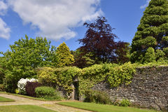 Walled garden Stock Image