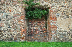 Walled gate. Royalty Free Stock Photos