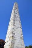 walled obelisk royaltyfria bilder