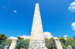 The walled obelisk Istanbul, Turkey. Stock Photos