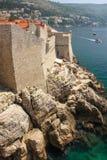 walled stad dubrovnik croatia royaltyfri fotografi