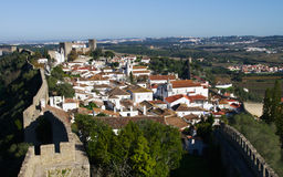 Walled town, �bidos Stock Image