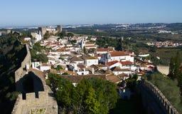 Walled town, �bidos Stock Image