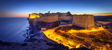 Walled town of Bonifacio Royalty Free Stock Photo