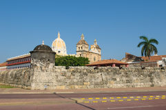 Free Walled Town Of Cartagena, Colombia Royalty Free Stock Image - 12514886