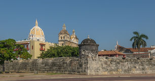 Free Walled Town Of Cartagena, Colombia Royalty Free Stock Image - 33762896