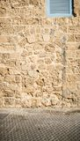 Walled-up doors in Old Jaffa, Israel Royalty Free Stock Images