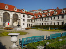 Wallenstain Palace Garden Landmark Czech Royalty Free Stock Photos