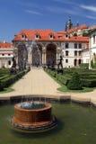 Wallenstein宫殿庭院 库存图片