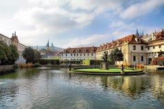 wallenstein de Prague de jardin photo libre de droits