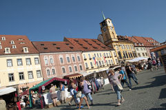 Wallenstein festivities Royalty Free Stock Images