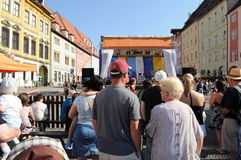 Wallenstein festivities Stock Photo
