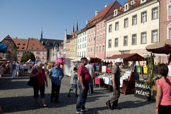 Wallenstein festivities Stock Images
