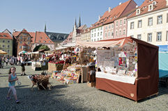Wallenstein festivities Royalty Free Stock Photo