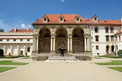 Wallenstein Garden Royalty Free Stock Photo