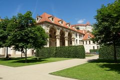 Wallenstein Garden Stock Images