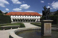 Wallenstein garden in Prague Stock Photography