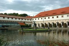 Wallenstein garden in Prague Stock Photos