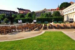 Wallenstein Garden in Prague. Czech republic royalty free stock photo
