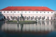 Wallenstein garden in Prague royalty free stock photo