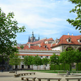 Wallenstein garden in Prague Royalty Free Stock Photo