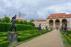 Wallenstein Garden in Prague, Czech Republic royalty free stock photo