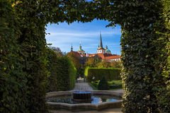 Wallenstein Garden Prague Czech Republic Stock Image