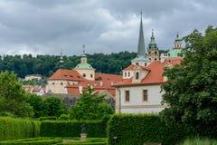 Wallenstein Garden in Prague, Czech Republic stock images