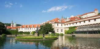 The Wallenstein Garden in Prague Stock Images