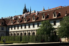 Wallenstein garden is situated in Prague on the Small Side, Czech Republic Royalty Free Stock Photos