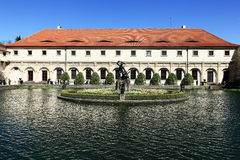 Wallenstein garden is situated in Prague on the Small Side, Czech Republic Royalty Free Stock Photo