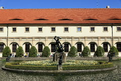 Wallenstein garden is situated in Prague on the Small Side, Czech Republic Stock Images